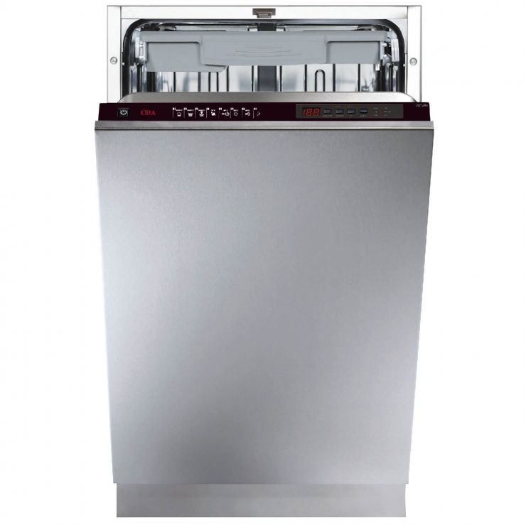 Cda WC432 45cm Fully Integrated Dishwasher A++AA Rating