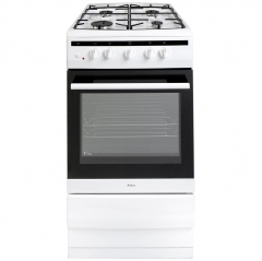 amica 508gg5w 50cm gas oven and gas hob