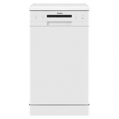 amica adf410wh 45cm freestanding dishwasher