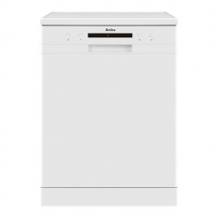 amica adf610wh 60cm freestanding dishwasher