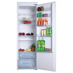 amica bc2763 full height built in fridge a+ rating