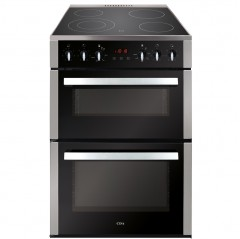 cda cfg610ss 60cm double cavity gas freestanding cooker