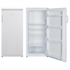 amica fc2093 55cm wide 1235cm high freestanding larder fridge