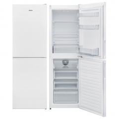 amica fk2623f 55cm wide 166cm high frost free fridge freezer in white