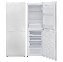 amica fk2623 55cm wide 166cm high fridge freezer in white