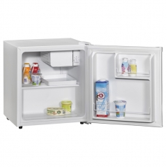 amica fm0613 table top compact fridge in white