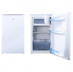 amica fm1044 48cm freestanding fridge with ice box