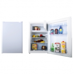 amica fm1333 55cm freestanding larder fridge with ice box in white