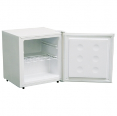 amica fz0413 table top freezer in white
