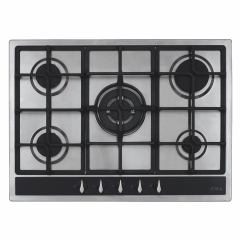 cda hg7351ss 70cm gas hob in stainless steel
