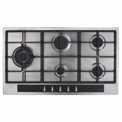 cda hg9351ss 90cm gas hob in stainless steel