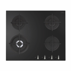 cda hvg671bl gas hob in black