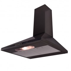 lux air la60deltastdss 60cm cooker hood in stainless steel