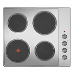 matrix mhe003ss 60cm 4 zone solid plate hob in stainless steel