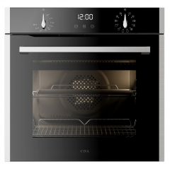 cda sl300ss  13 function single multifunction oven in stainless steel