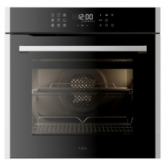 cda sl400ss single multifunction oven in stainless steel