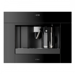 cda vc820bl built in coffee maker in black - matches sl range