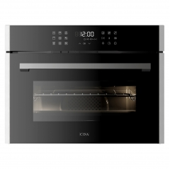 cda vk903ss compact microwave, grill and fan oven in stainless steel - matches sl range