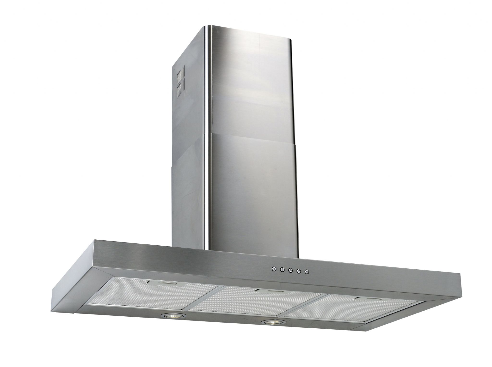Lux Air La100fltss 100cm Cooker Hood In Stainless Steel