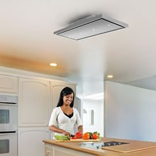Recirculating Ceiling Cooker Hoods